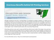 3D Printing Services for Designing the Perfect