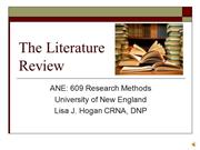 ANE 609 Literature Review-2010-Hogan-Audio