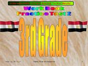 Practice Test 2 WB 3rd Grade