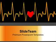 Heartbeat Medical Background PowerPoint Templates PPT Backgrounds For