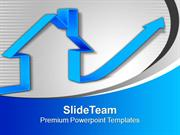Increase In Process Real Estate Concept PowerPoint Templates PPT Backg