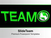 Team Concept Global Business PowerPoint Templates PPT Backgrounds For