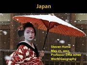 Japan Powerpoint World Geography-Jones-2013