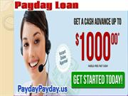 Easiest Way To Get Payday Loan Advances