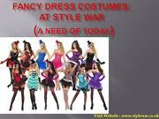 Fancy Dress Costumes At Stylewar