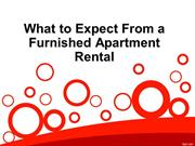 What to Expect From a Furnished Apartment Rental
