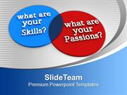 Venn Diagram Of Skills And Passions Future PowerPoint Templates PPT Ba