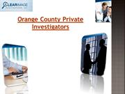 Orange County Private Investigators