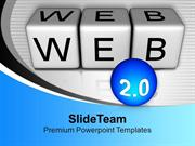 Web Icon Network Internet PowerPoint Templates PPT Backgrounds For Sli