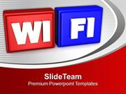 WIFI Symbol Internet PowerPoint Templates PPT Backgrounds For Slides 0