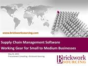 SCM Software - Working Gear for Small to Medium Businesses