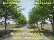 Restoration of Encroached Lands (18-05-2013)