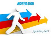 Motivation  (2013-04-05-April and May)