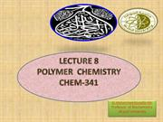 Chem-341 -LEC 8 Polyamides--Nylon etc