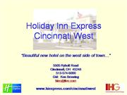 Holiday Inn- Grand Opening