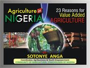 agriculture in nigeria - 23 reasons for value added agriculture by sot