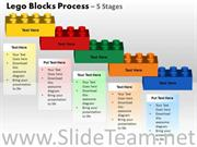 Lego Bricks PPT Chart