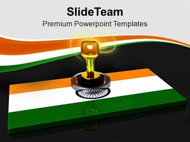 National Flag Key on it India Safety Powerpoint Templates PPT Them – Safety Powerpoint Template
