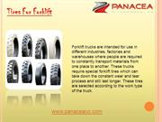 Tires For Forklift By Panaceaco