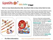 Raksha Bandhan Gifts - We wide range of Send Rakhi to India Online