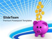 Coins Dollar Coins PowerPoint Templates PPT Themes And Graphics 0213