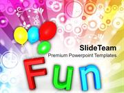 Fun With Colorful Balloons Holidays PowerPoint Templates PPT Themes An