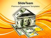 House Made By Dollar Estate Insurance PowerPoint Templates PPT Themes