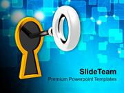 Key To Success Business PowerPoint Templates PPT Themes And Graphics 0