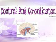 Control nd Coordination ppt