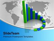 Circular Bar Graph Growth In Business PowerPoint Templates PPT Themes