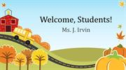 First Day of School Welcome, Students to Second Grade!