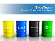 Different Types Of Fuels Tanks Gas Petrol PowerPoint Templates PPT The