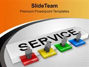 Customer Service Concept Success PowerPoint Templates PPT Themes And G