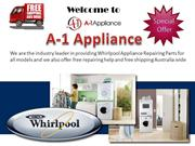 Whirlpool Appliance Parts From A-1 Appliance