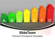 Energy Efficiency In Colorful Home PowerPoint Templates PPT Themes And