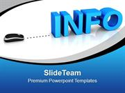 Info With Computer Mouse PowerPoint Templates PPT Themes And Graphics