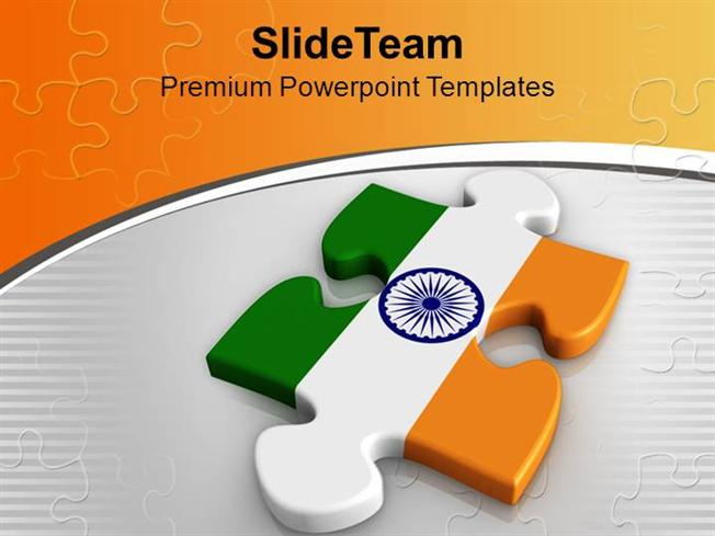 National flag on puzzle piece indian powerpoint templates ppt them national flag on puzzle piece indian powerpoint templates ppt them authorstream toneelgroepblik Image collections