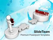 3d Man Way To Reliability Business PowerPoint Templates PPT Themes And