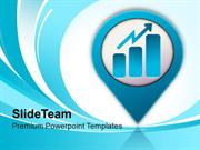 Business Graph Icon Growth PowerPoint Templates PPT Themes And Graphic