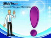 Confused Business Man Strategy Business PowerPoint Templates PPT Theme