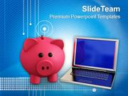Cost Of Technology And Information Business PowerPoint Templates PPT T