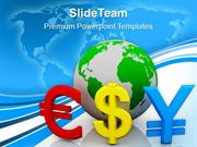 Global Currencies Finance Business PowerPoint Templates PPT Themes And