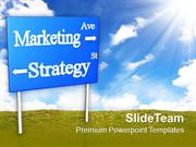 Marketing Strategy Signboard Business PowerPoint Templates PPT Themes