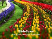Path To Garden Nature PowerPoint Templates PPT Themes And Graphics 021