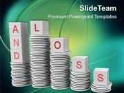 Profit And Loss Business Concept PowerPoint Templates PPT Themes And G