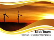Renewable Windmills Environment PowerPoint Templates PPT Themes And Gr
