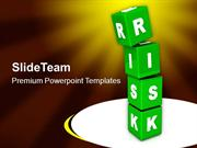 Risk Cubes Business Concept PowerPoint Templates PPT Themes And Graphi