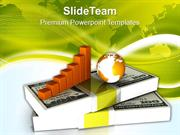 Business Diagram With Dollars And Globe PowerPoint Templates PPT Theme