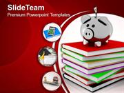 Increasing Cost Value Savings Education PowerPoint Templates PPT Theme