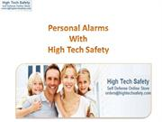 Personal Alarms With High Tech Safety